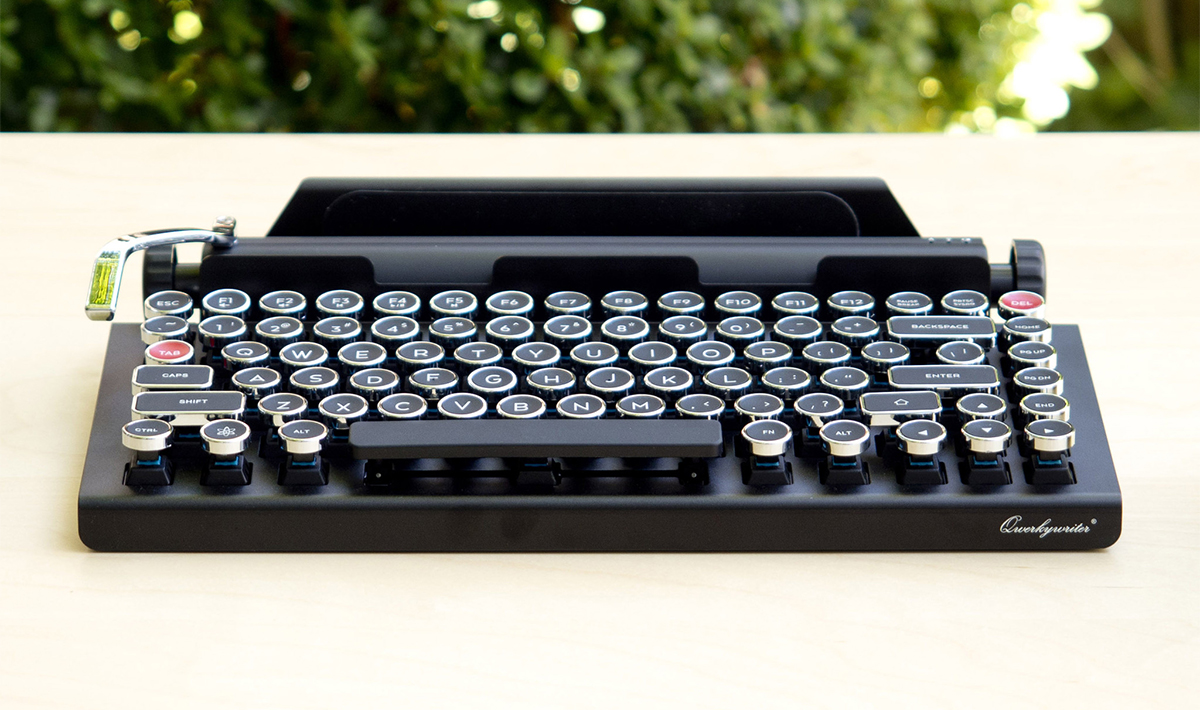 Qwerkywriter Trasforma Il Tablet In Una Macchina Da Scrivere Wired