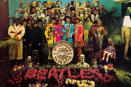 La leggendaria copertina di Sgt. Pepper