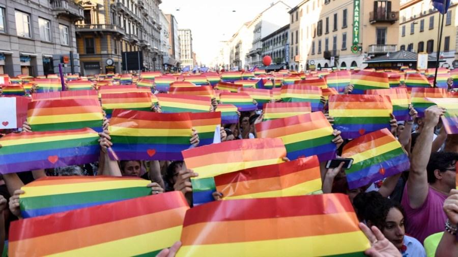 Milano pride 2018 (Claudio Furlan/LaPresse)