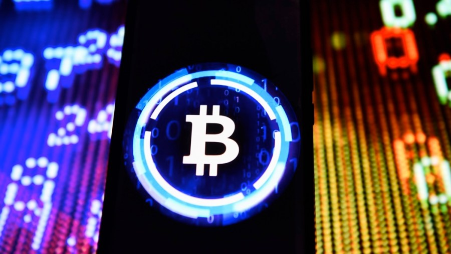 Bitcoin (foto Omar Marques/Sopa Images/LightRocket via Getty Images)