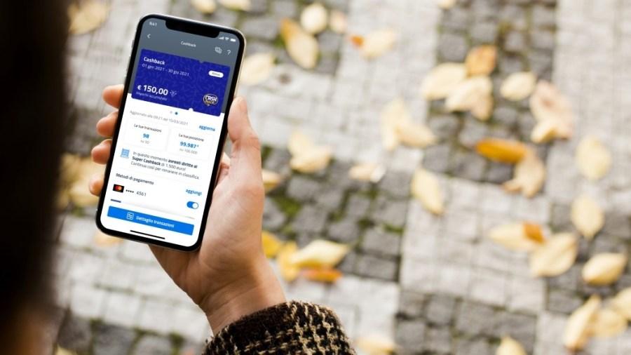 Il portafoglio cashback è visualizzabile sull'app Io (foto io.italia.it)