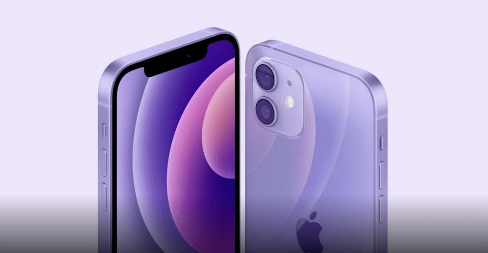 iphone 12 violetto