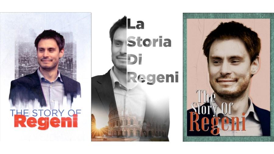 The Story of Regeni - alcune locandine