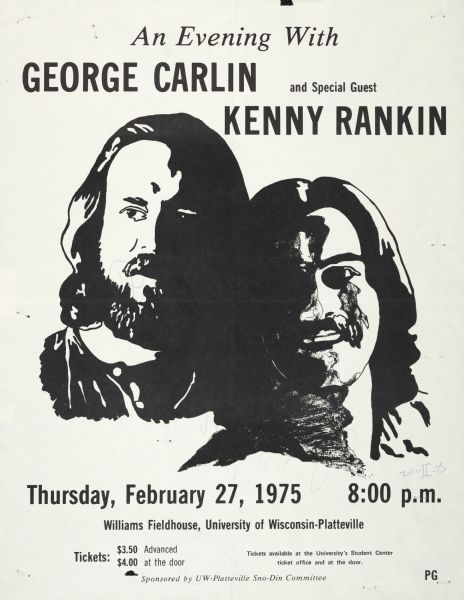 an evening with george carlin poster