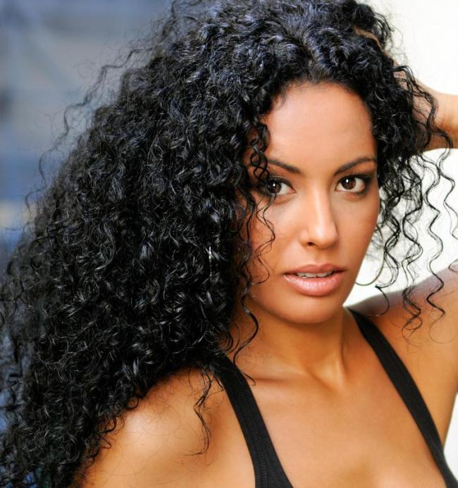 Curly Perm Black Hair