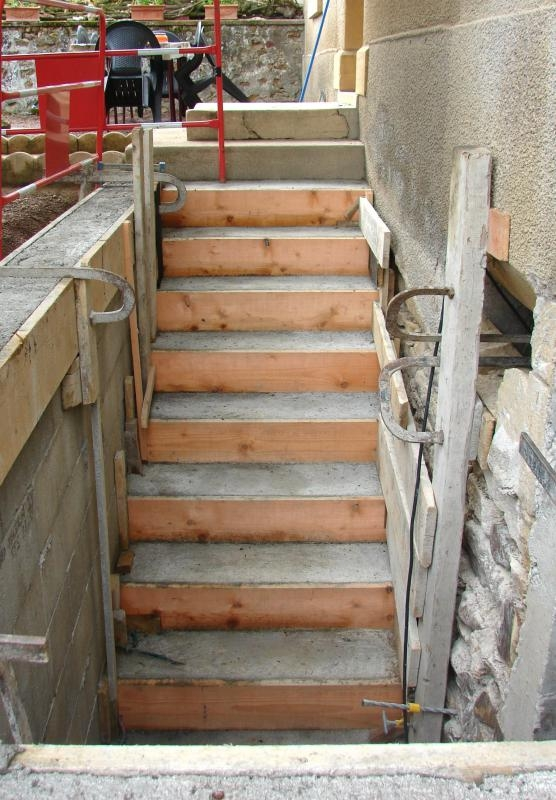 What Are Precast Concrete Steps With Pictures | Precast Concrete Basement Steps Near Me | Basement Walls | Egress Window | Finished Basement | Prefab Concrete | Stair Treads