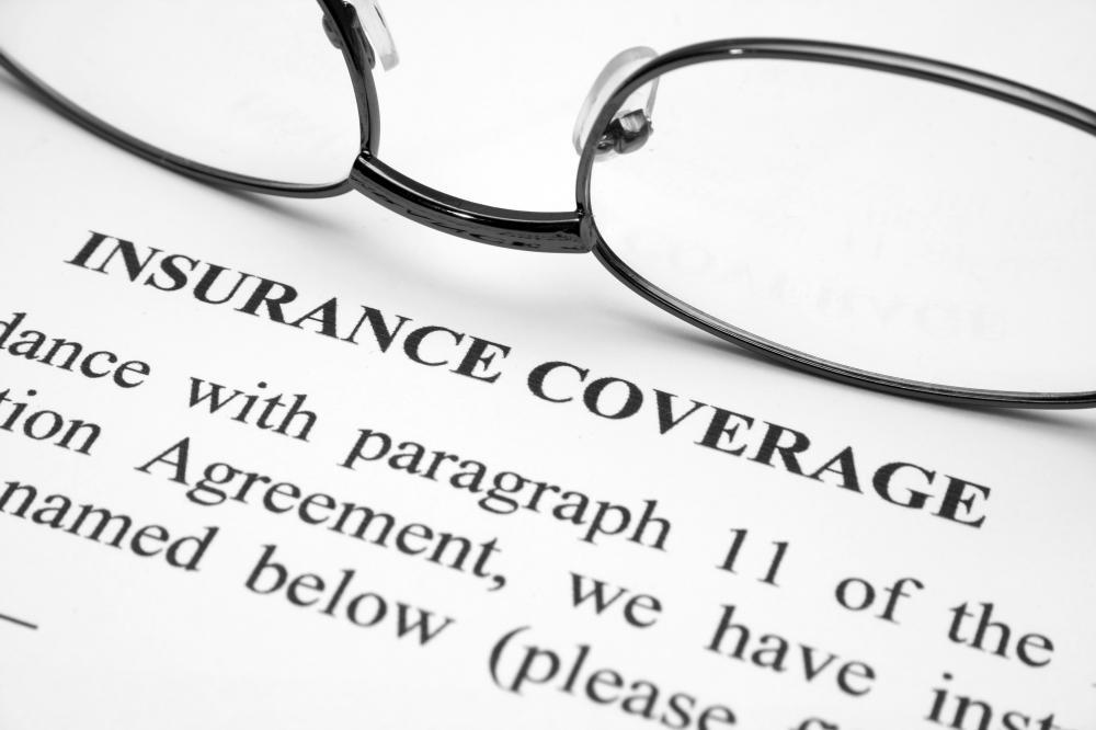 An insurance agreement.