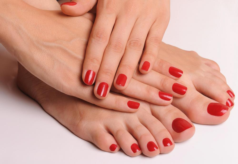 A Nail Primer May Serve As An Adhesive Before Colored Polish Is Applied To Person S Nails