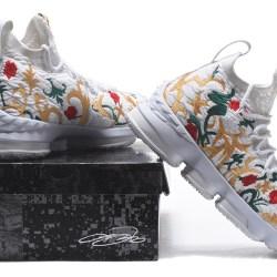 c566ca7d82770 Nike Lebron James 15 Flowers Plants Men's Basketball Shoes Nike