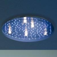 LED Deckenleuchte, Sternenhimmel, Fernbedienung, Ø75cm 5x ...