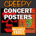 Wolfgang's Vault - Creepy Concert Posters