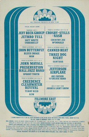 Jeff Beck GroupHandbill