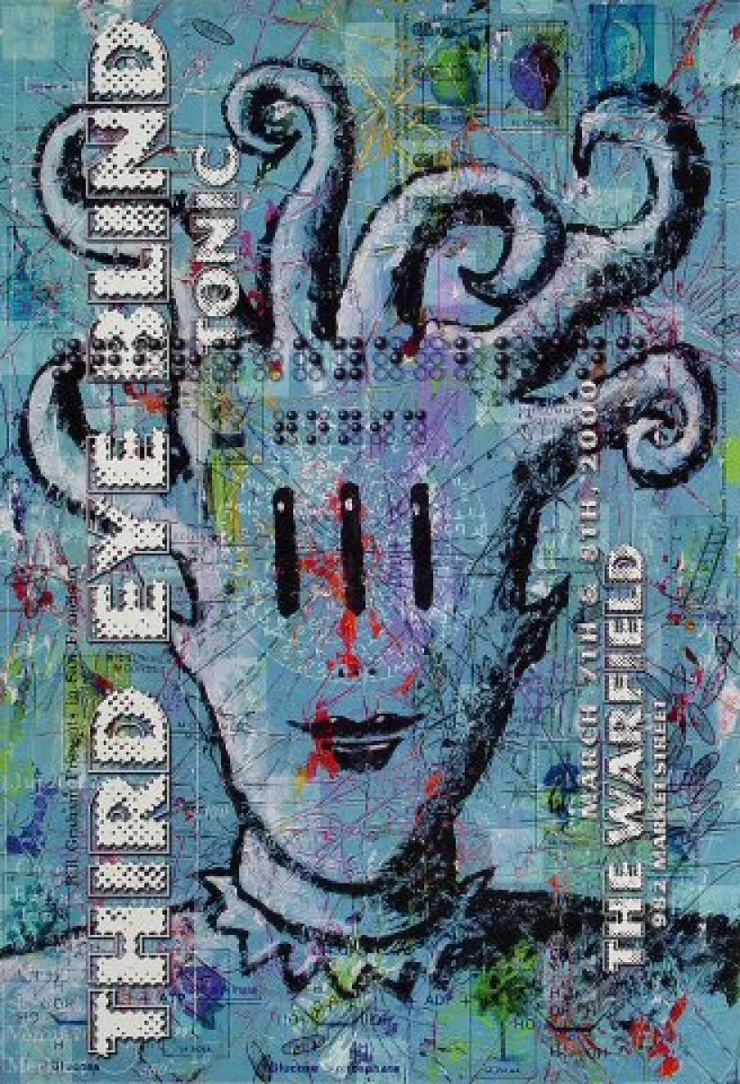 third eye blind vintage concert poster from warfield theatre mar 7 2000 at wolfgang s