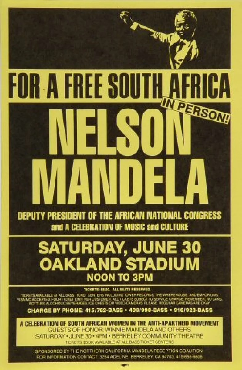 nelson mandela posters at wolfgang s