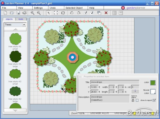 Free Garden Design Software | Garden ideas and garden design. Small Garden Designs - garden planter designs