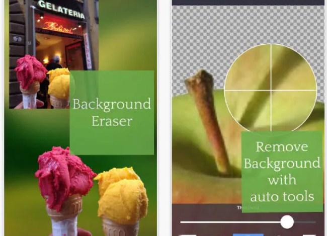 برنامج لجعل خلفية الصورة بيضاء للايفون مع الشرح