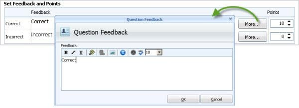 Feedback Settings