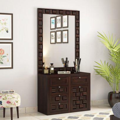 buy wooden dressing table online in