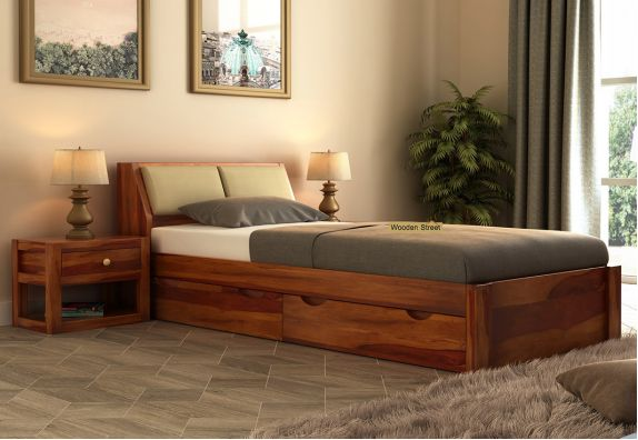 bed with storage online