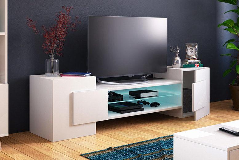 Gaelin Tv Stand Shop Livingsocial