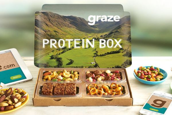3 Graze Snack Boxes & Delivery!   Shop   Wowcher