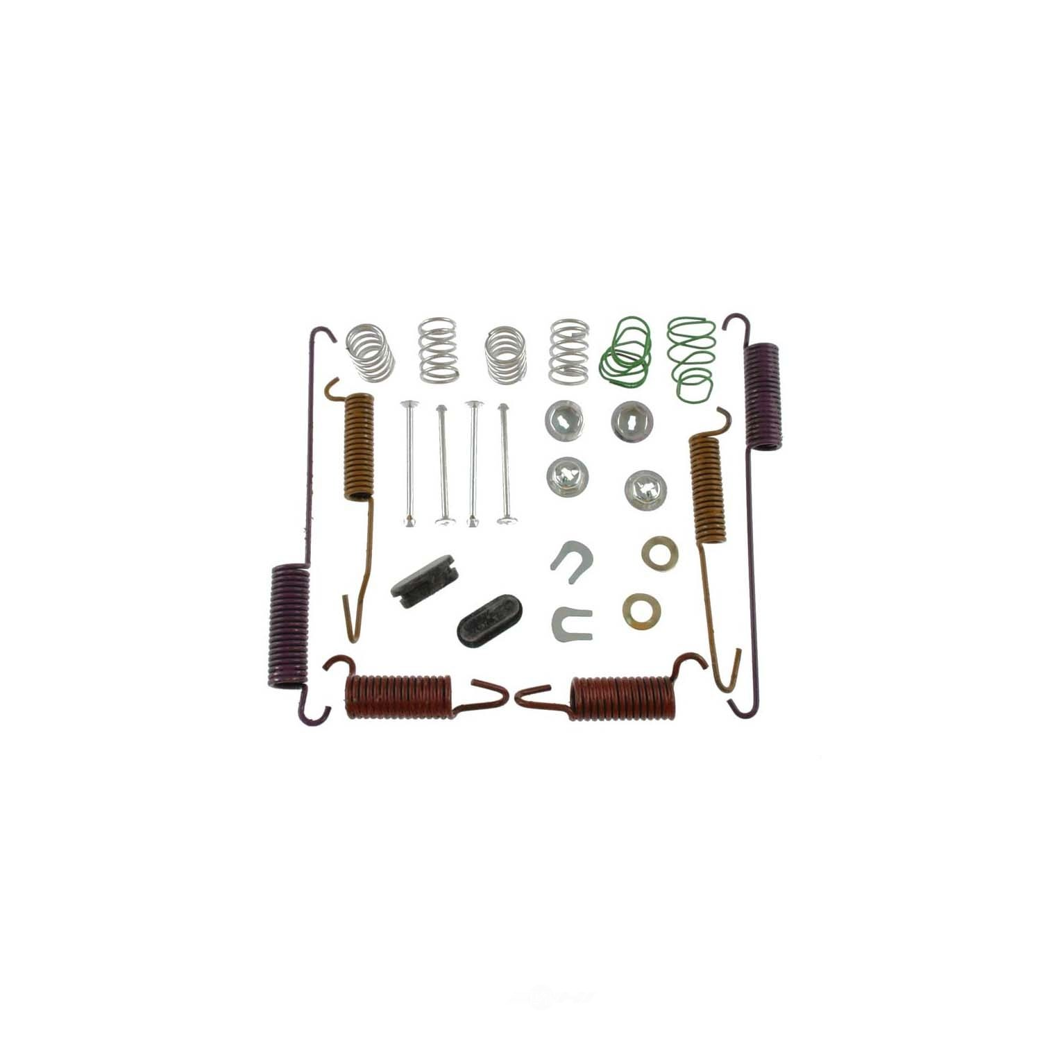 Drum Brake Hardware Kit Rear Carlson H