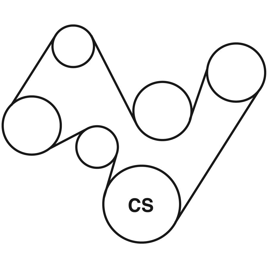 1995 pontiac firebird belt routing diagram