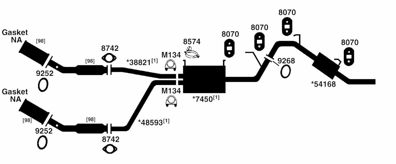 2003 Nissan Altima Exhaust Diagram