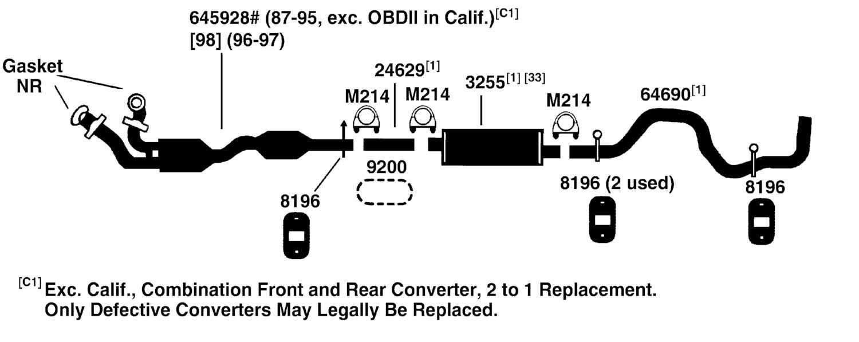 ford f150 exhaust diagram periodic diagrams science ford f250 exhaust diagram ford pickup f250 exhaust