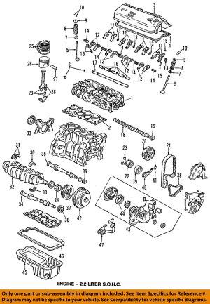 HONDA OEM 9093 AccordEngine Cylinder Head Gasket