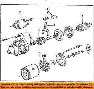 BMW OEM 0305 Z4Starter Motor 12412354693