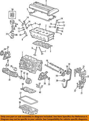 HONDA OEM 9701 CRVEngine Cylinder Head Gasket