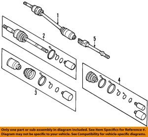 KIA OEM 0610 Sedona Front DriveCV Shaft Axle Assy