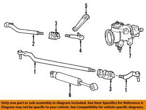 FORD OEM 9904 F350 Super Duty Steering GearSteering