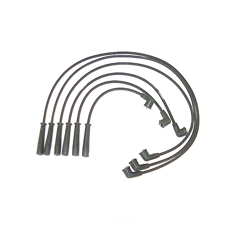 Spark Plug Wire Set 7mm Denso 671 Fits 96 98 Mazda