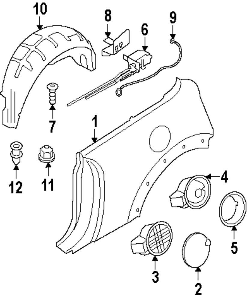 Genuine mini actuator holder min 41352752429