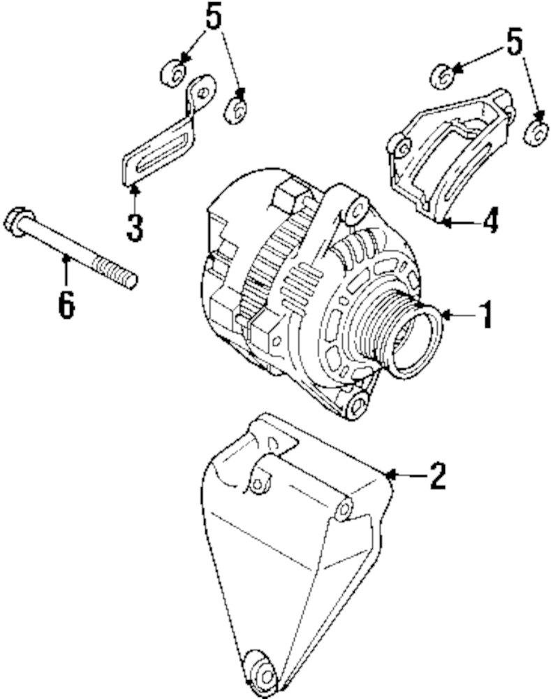 Genuine daewoo adjust bracket dae 96352144