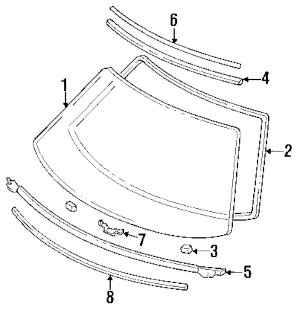 Genuine acura reveal molding acu 73151sl0023