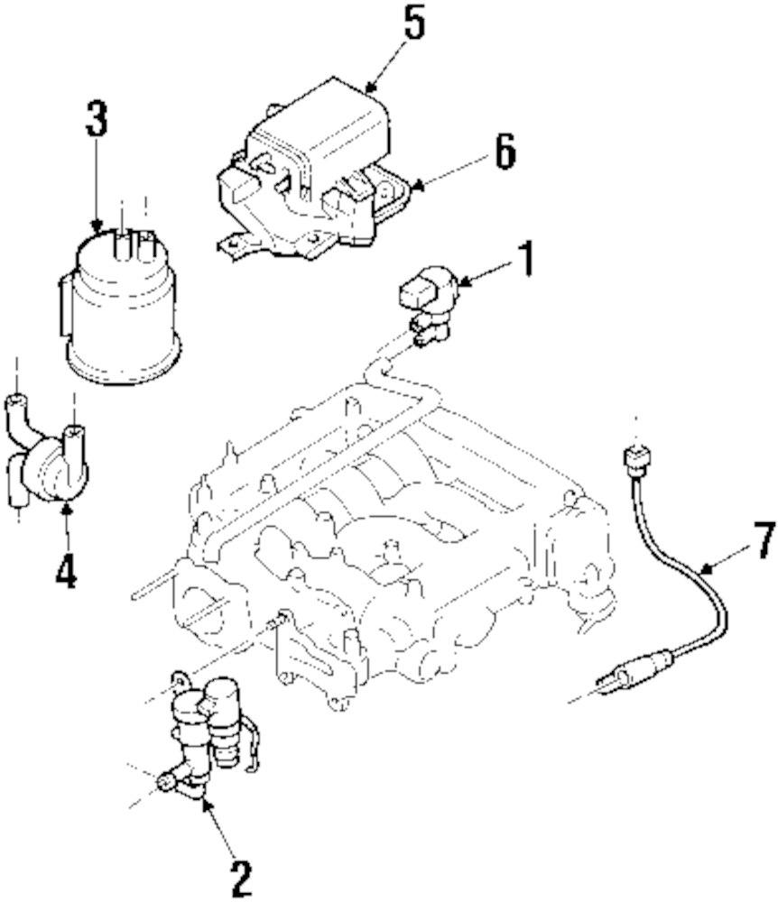 Genuine mazda vapor canister protector maz lb944259y