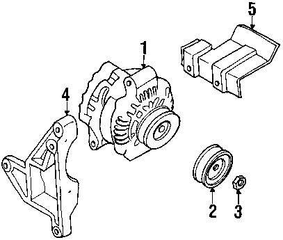 Genuine mazda pulley maz gy0118w11