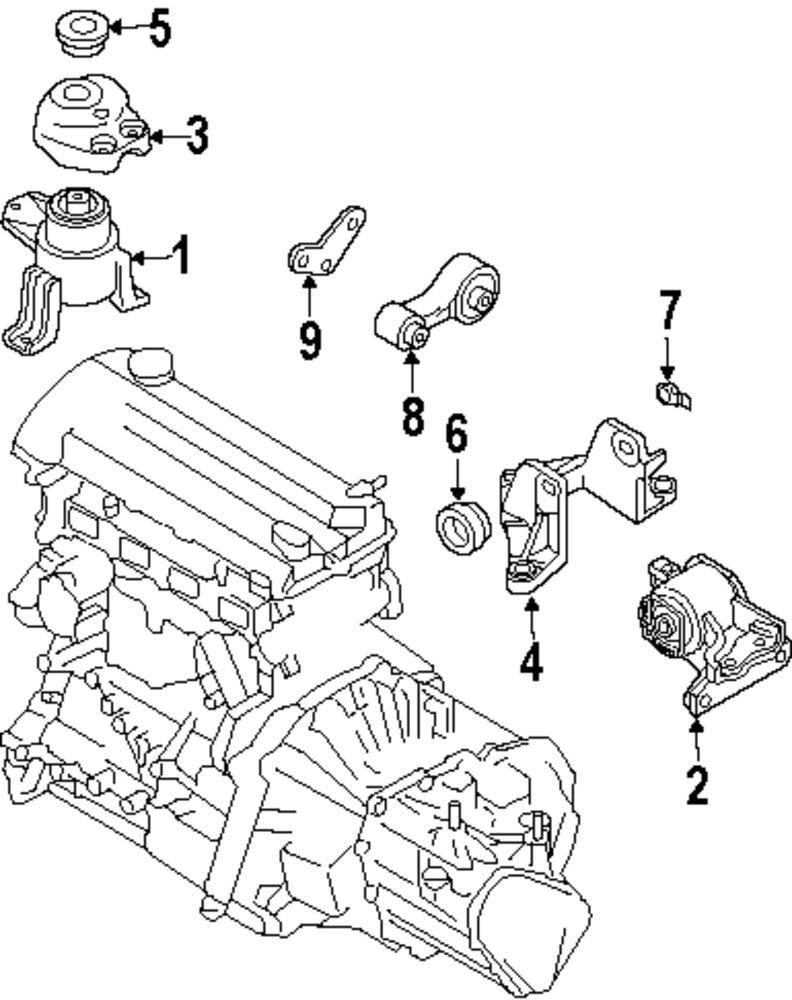 2006 mazda 6 engine and transaxle parts genuine mazda plate maz gp9a39015 at 3 0 l hyundai engine diagram