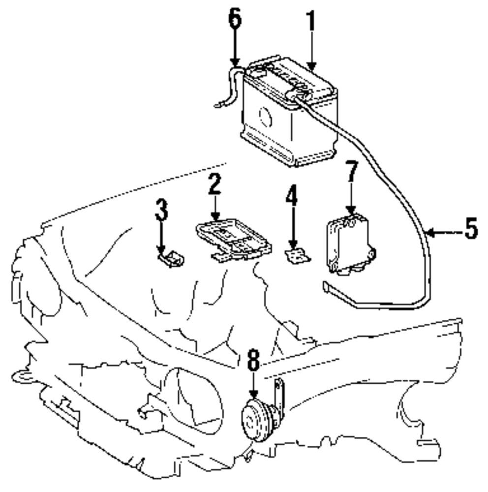 Genuine mercedes benz battery mbz 0035417201