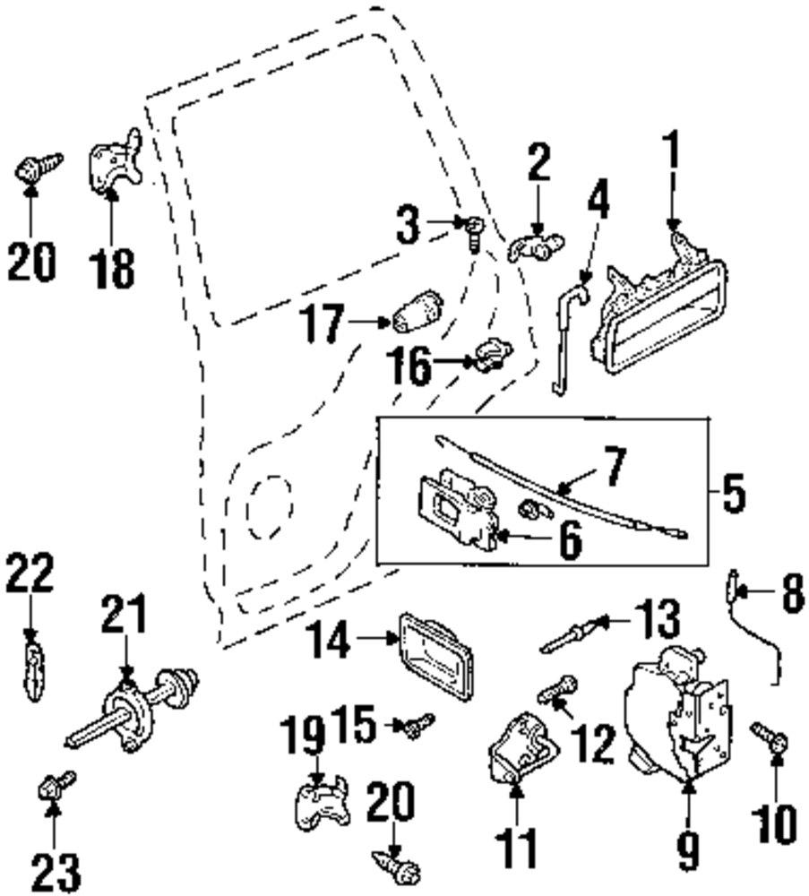 Genuine land rover link ran asr1471