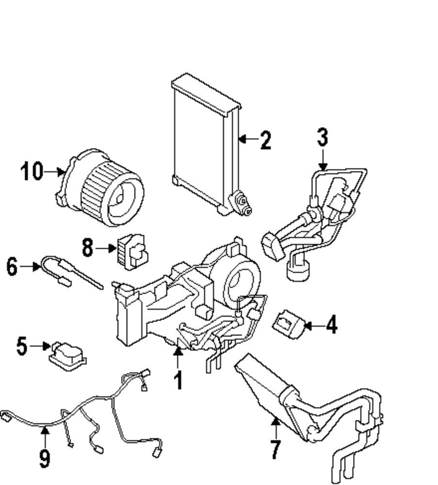 Genuine land rover motor ran lr043490