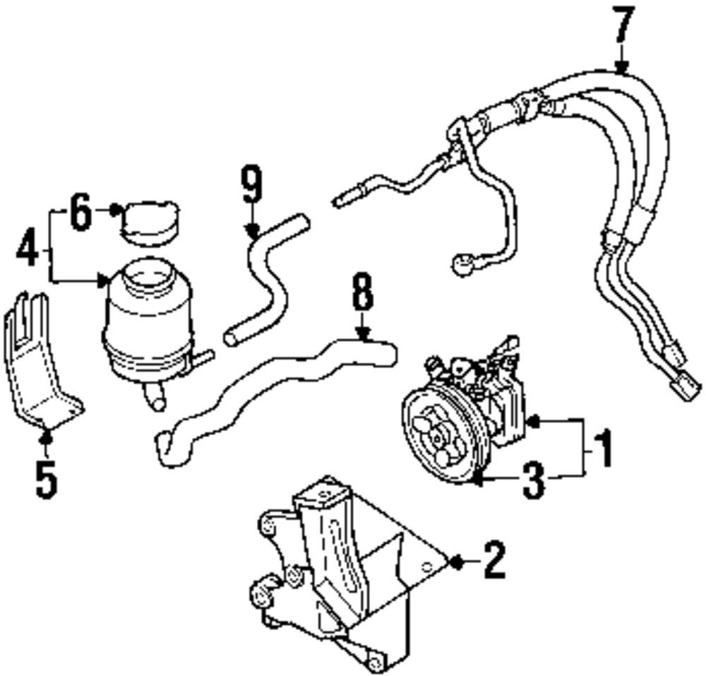 P s pump mount bracket