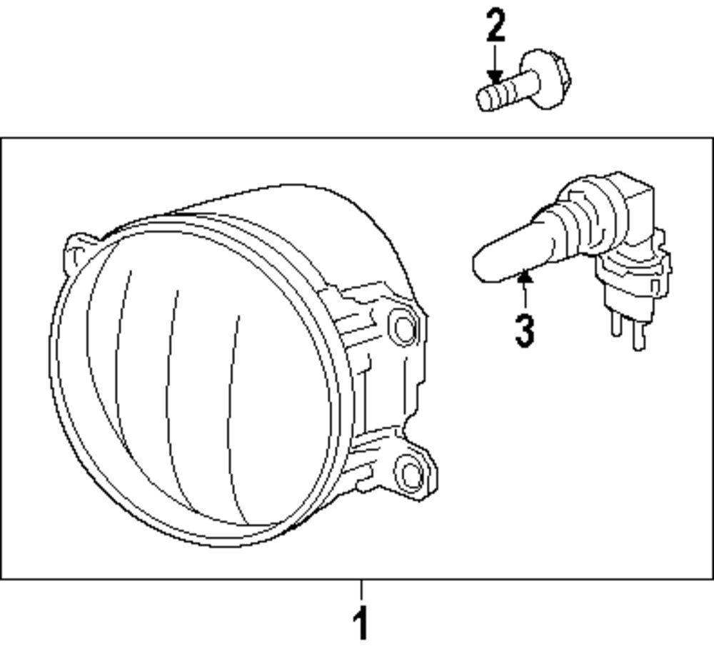 Lower grille screw