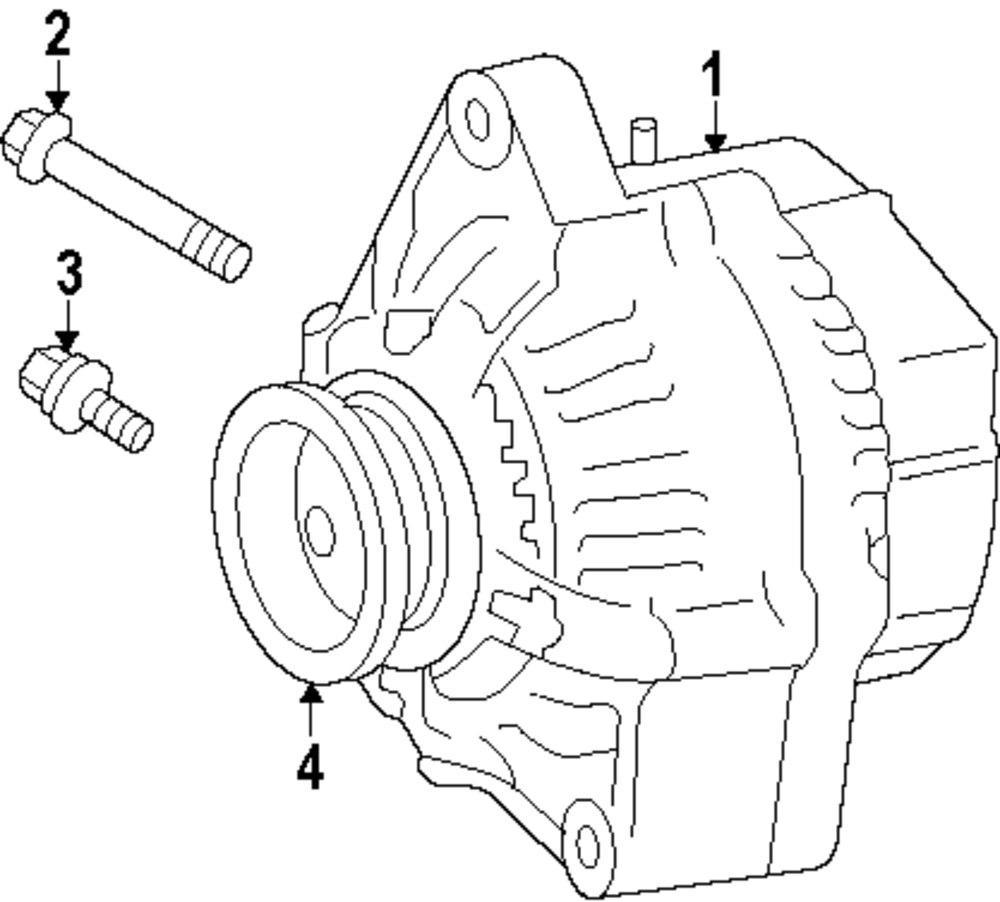 Genuine scion alternator mount bolt sci 91511k0840