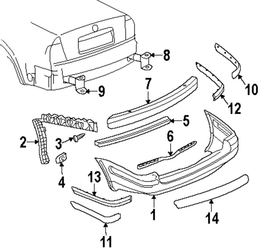 Genuine volkswagen absorber vwg 3b9807335