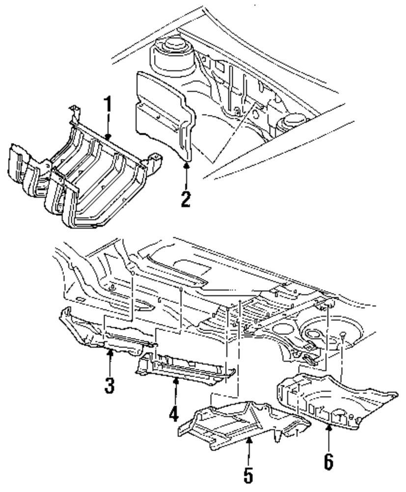 Genuine volkswagen exhaust pipe vwg 1hm803311c