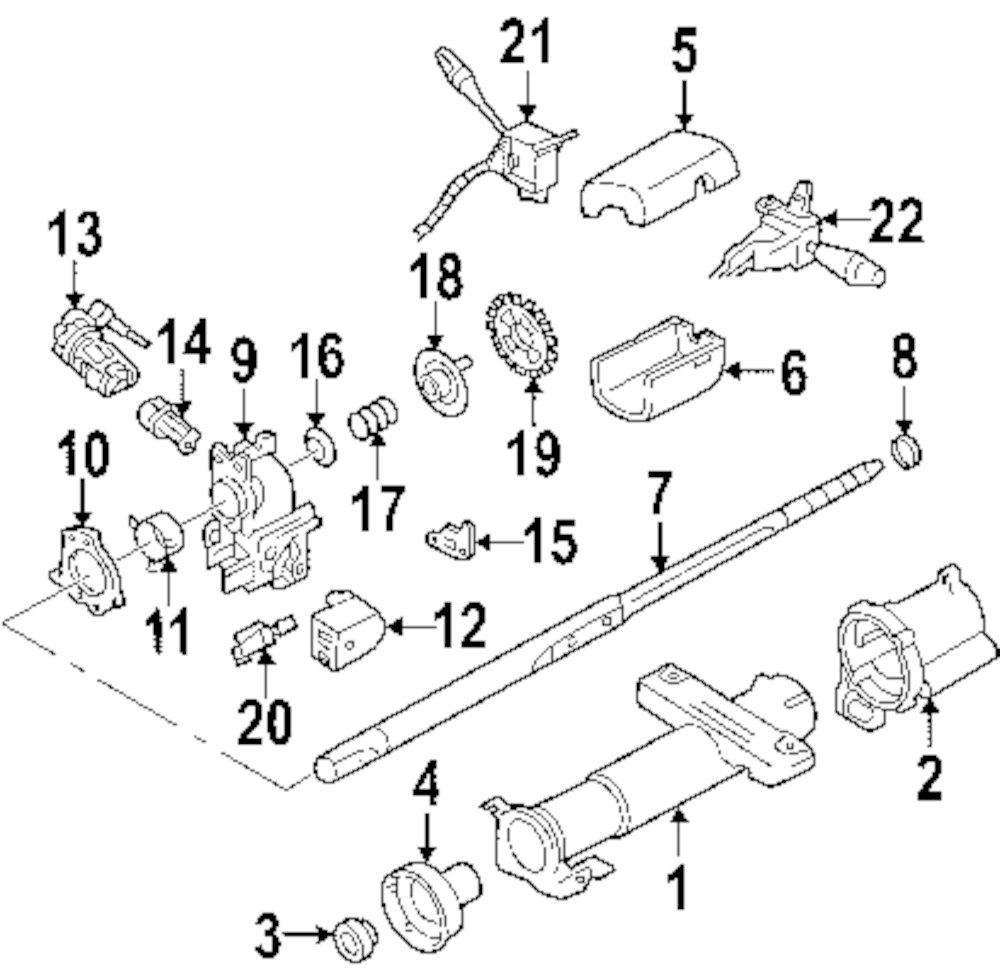 1998 1999clubcargaselectric besides 6dsqr speed sensor located 88 toyota pick moreover chevy steering parts diagram besides